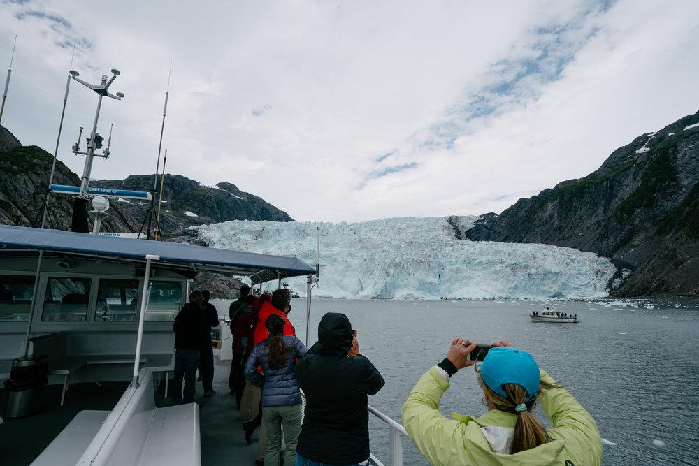 Holgate glacier.