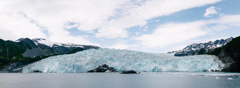Aialik Glacier.