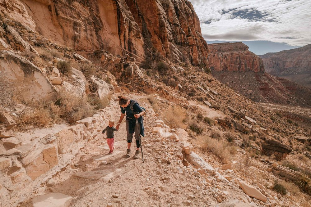 havasupai with kids