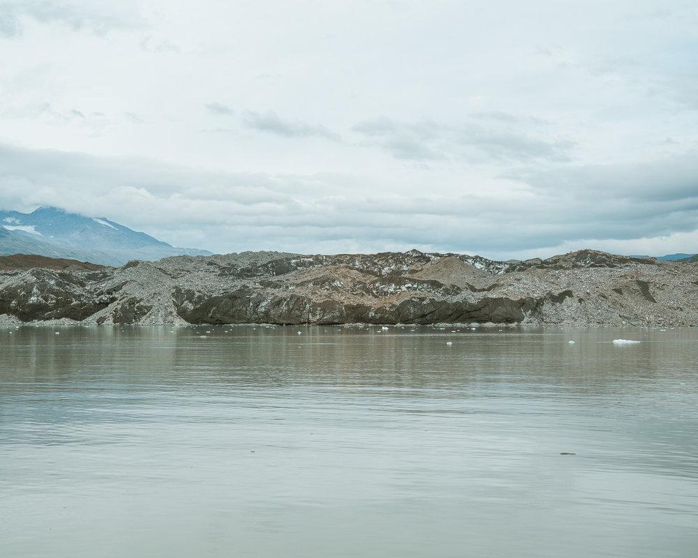 Grand Pacific Glacier today.