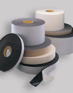 Custom manufactured tape by American Flexible Products.