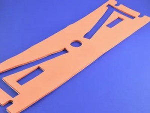Closed cell, Bisco silicone part, manufactured and die cut by American Flexible Products