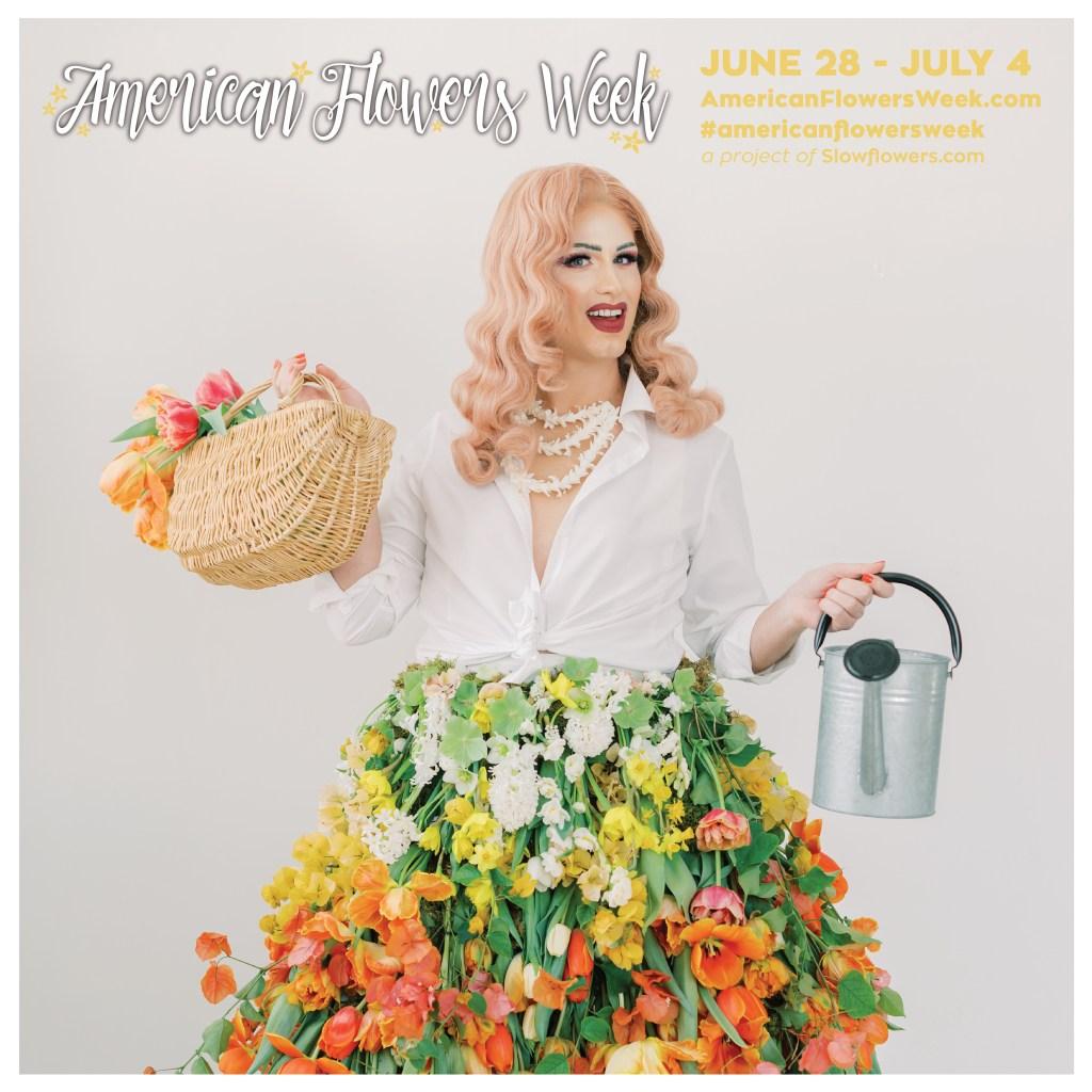 American Flowers Week 2021 Jennifer Designs