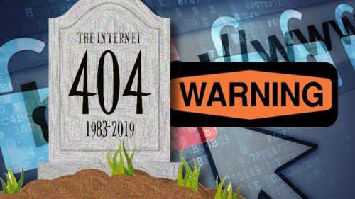 Internet All But Dead