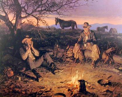 Campfire (Blue Harmonica)