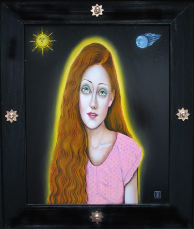 Girl With The Sun In Her Hair