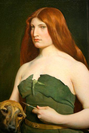A Celtic Huntress