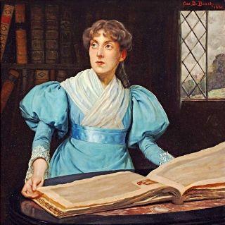 Portrait of Mrs. Harry Walker