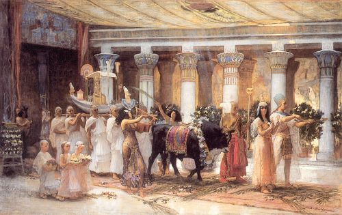 small_The Procession of the Sacred Bull Anubis