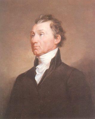 Portrait of James Monroe