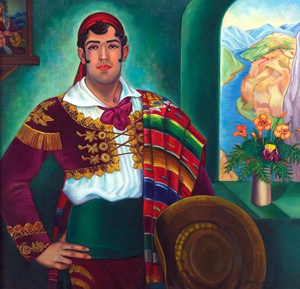 Portrait of José Mojica.2