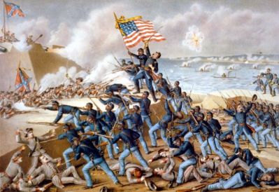 The Storming Of Fort Wagner