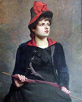 Studio Model (Une madame de Paris)