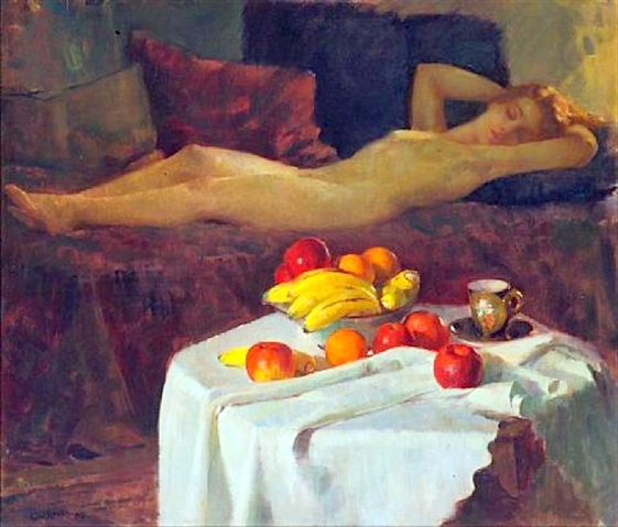Sleep (Nude And Still Life)