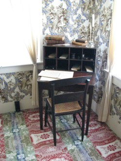 Most of Lincoln's most important papers were written at this desk.