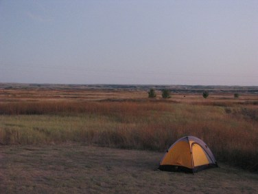 """Parts of """"Dances With Wolves"""" were filmed in the grasslands out there."""
