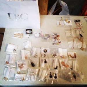 Luxury Brand Group prepares for travel by individually packing items in their own bag.