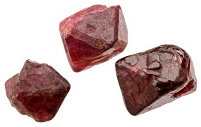 Three Spinel Crystals