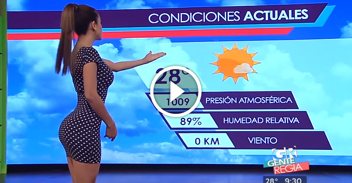 After 1 Year Of Fame The World S Hottest Weather Woman