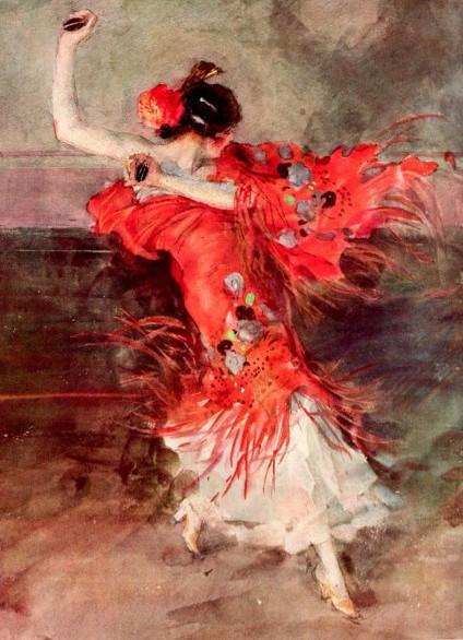Danzatrice by Antoine Calbet