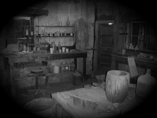 Inside the Assay Office at Vulture Mine
