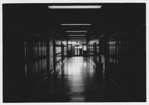 Haunted West High School Hallway