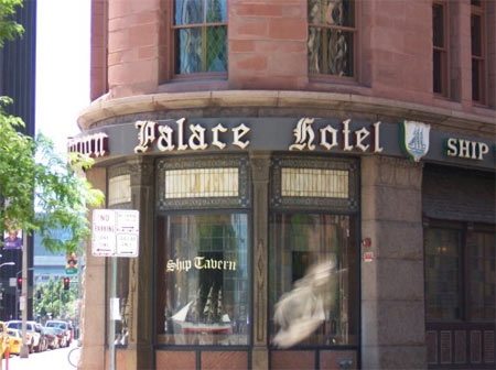 Brown Palace Hotel Entrance