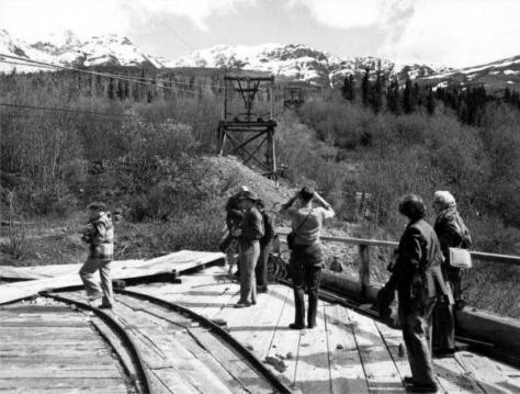 Kennecott Tourist on Rails