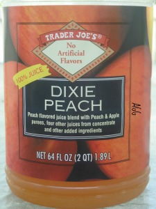 DIxie Peach Juice