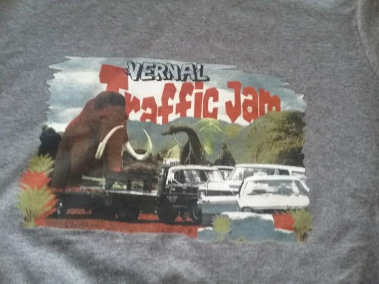 traffic jam tshirt
