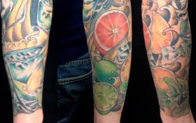 Adam Rose Cocktail sleeve