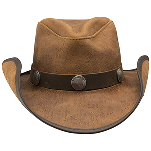 Take them by storm in this hat! Bringing a handcrafted pinch on the crown that gives you that carefree Western appeal, the Cyclone is available in five distinctive colors that will please any personality and match your mood no matter which way the wind blows.