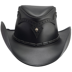 A new addition to our tried and true Double G Hats line comes the stealthily stylish Wing Tip.More than a workhorse, this star of the rodeo boasts a decorative handcrafted detailing on the crown and a hat band. True to its roots, this hat features a sewn-in wire brim for personalized shaping and a perfect fit. Roping, casting, or just strolling, this hat is a show-stopper.