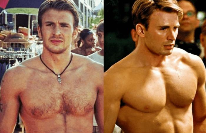 La rutina que convirtió a Chris Evans en Capitán América