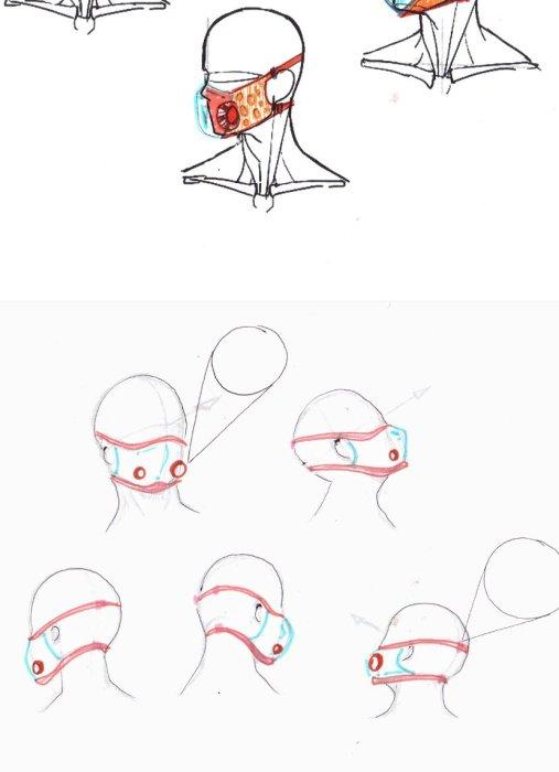 cubrebocas transparente