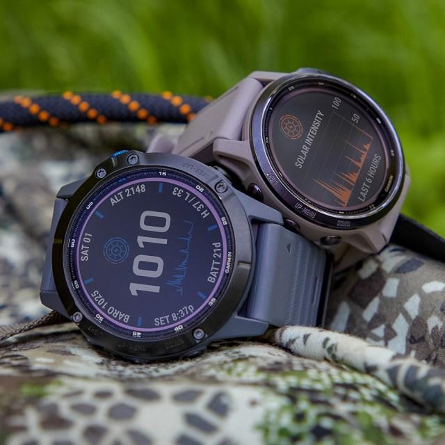 relojes inteligentes con carga solar
