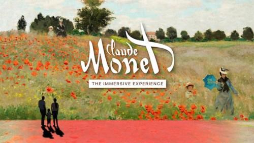 """""""Monet Experience"""": un viaje multisensorial que no debes perderte"""