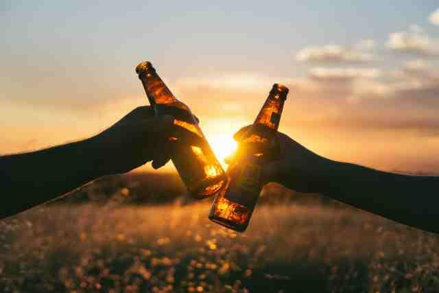 beber cerveza ejercicio