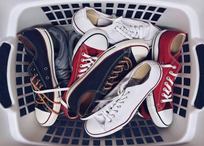 cómo limpiar zapatos deportivos