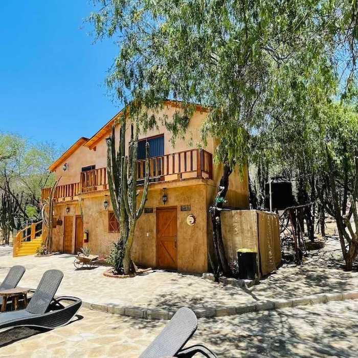 Cabañas El Triunfo en La Paz, un hotel boutique muy acogedor con una gran variedad de actividades.