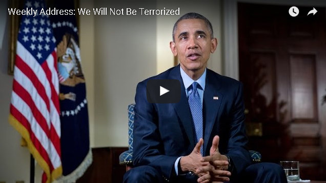President's Weekly Address: We Will Not Be Terrorized