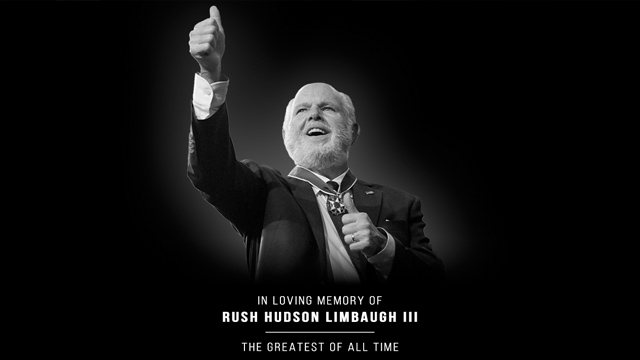 Rush Hudson Limbaugh III 1951 – 2021