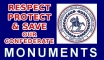 protect monuments sticker