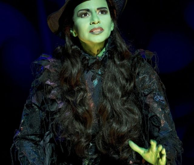 Mandy Gonzalez As Elphaba In Wicked Photograph By Joan Marcus