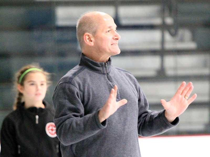 AIT Boston John Mucko teaching contemporary skating