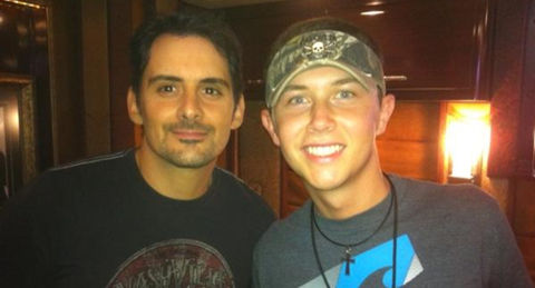 Scotty McCreery and Brad Paisley