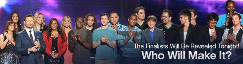 American Idol 2012 finalists