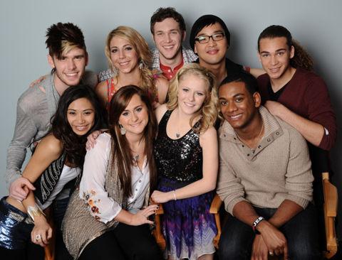 American Idol 2012 Top 9