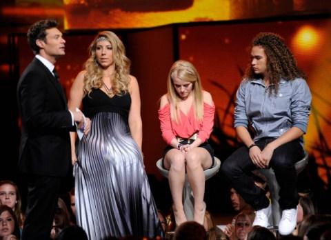 American Idol 2012 Top 8 Bottom 3