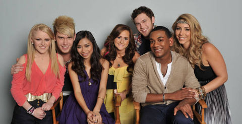 American Idol 2012 Top 7 finalists